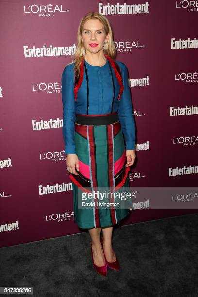 Rhea Seehorn attends the Entertainment Weekly's 2017 PreEmmy Party at the Sunset Tower Hotel on September 15 2017 in West Hollywood California