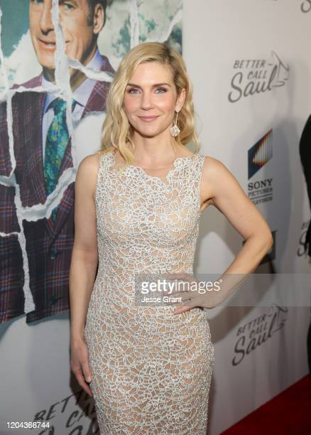 Rhea Seehorn attends the premiere of AMC's Better Call Saul Season 5 on February 05 2020 in Los Angeles California