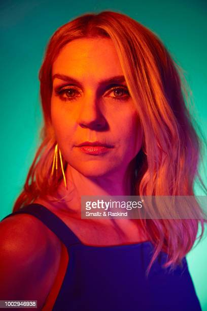 Rhea Seehorn from AMC's 'Better Call Saul' poses for a portrait at the Getty Images Portrait Studio powered by Pizza Hut at San Diego 2018 Comic Con...