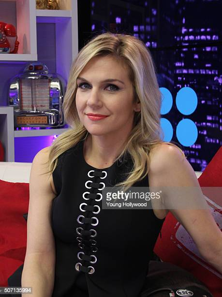 Rhea Seehorn visits the Young Hollywood Studio on January 27 2016 in Los Angeles California
