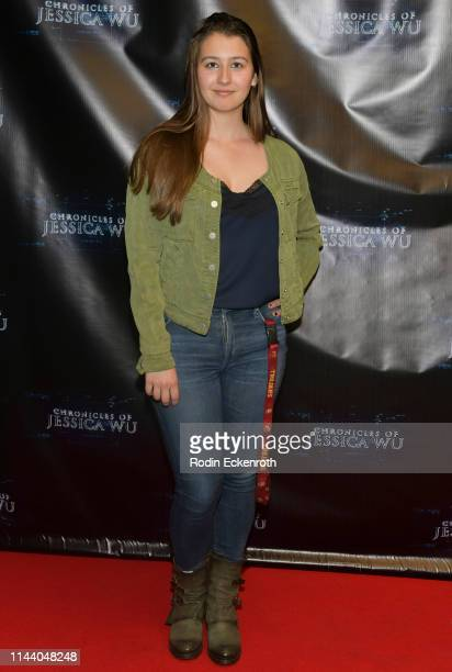 Rheagan Rizio attends the Chronicles of Jessica Wu Season 2 premiere at SAGAFTRA Foundation Screening Room on April 20 2019 in Los Angeles California