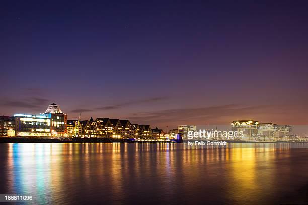 Rheinauhafen Skyline