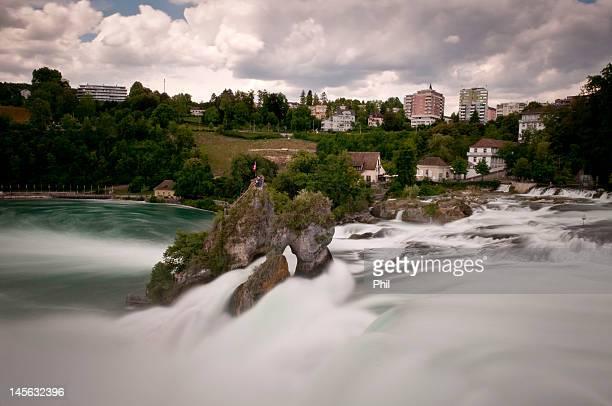 Rheinfall/Rhine Falls in Switzerland