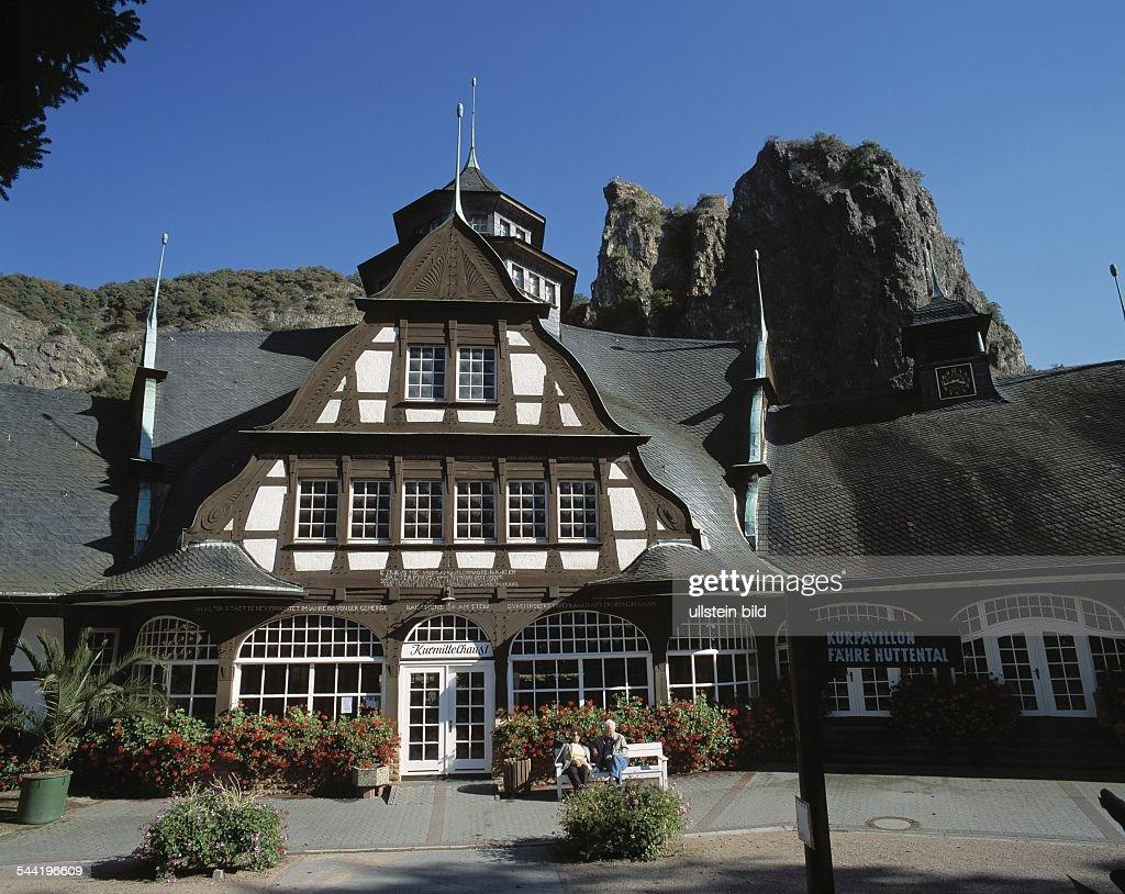Rheinland Pfalz : Bad Muenster Am Stein Ebernburg