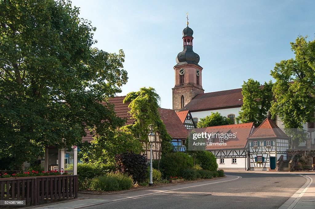 Rheinzabern, village in South Palatinate (Südpfalz) : Stock-Foto