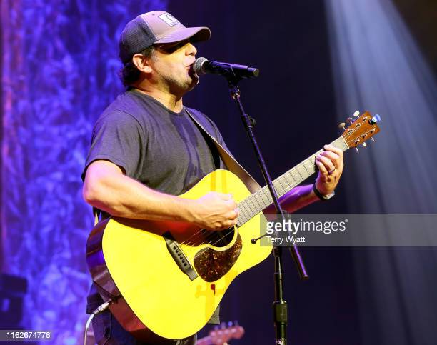 Rhett Akins of The Peach Pickers performs onstage during the 6th Annual Georgia On My Mind presented by Gretsch at Ryman Auditorium Nashville on July...