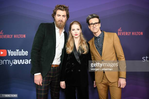 Rhett and Link arrive at the 9th Annual Streamy Awards at The Beverly Hilton Hotel on December 13 2019 in Beverly Hills California
