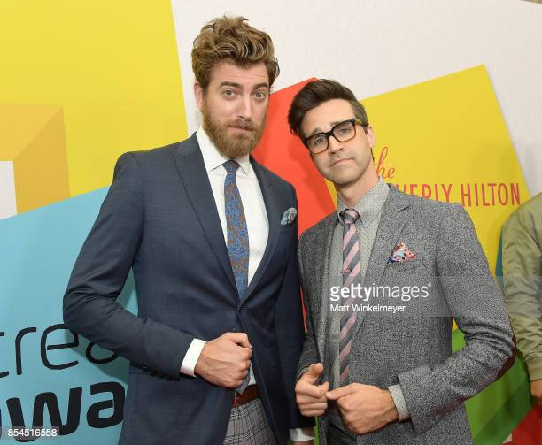Rhett and Link at the 2017 Streamy Awards at The Beverly Hilton Hotel on September 26 2017 in Beverly Hills California