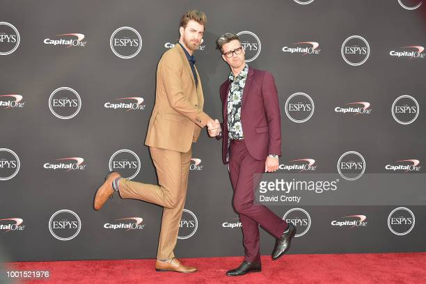 Rhett and Link attend The 2018 ESPYS at Microsoft Theater on July 18 2018 in Los Angeles California