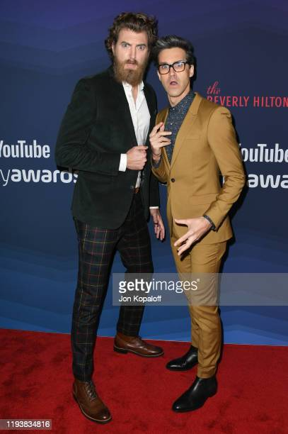 Rhett and Link attend the 9th Annual Streamy Awards at The Beverly Hilton Hotel on December 13 2019 in Beverly Hills California