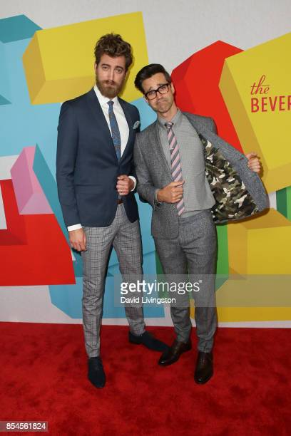 Rhett and Link attends the 7th Annual 2017 Streamy Awards at The Beverly Hilton Hotel on September 26 2017 in Beverly Hills California