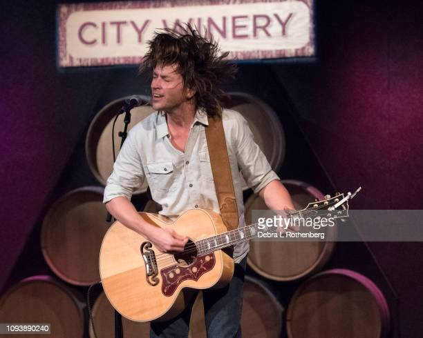 Rhett Miller live in concert at City Winery on February 4 2019 in New York City