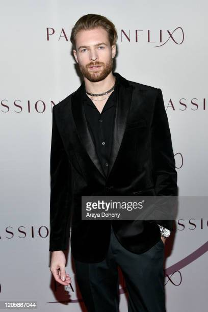 Rhett Wellington attends Passionflix's The Will Los Angeles Premiere on February 12 2020 in Culver City California