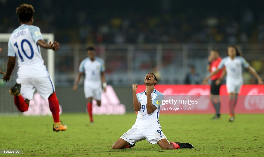 Brazil v England - FIFA U-17 World Cup India 2017 Semi Final : News Photo