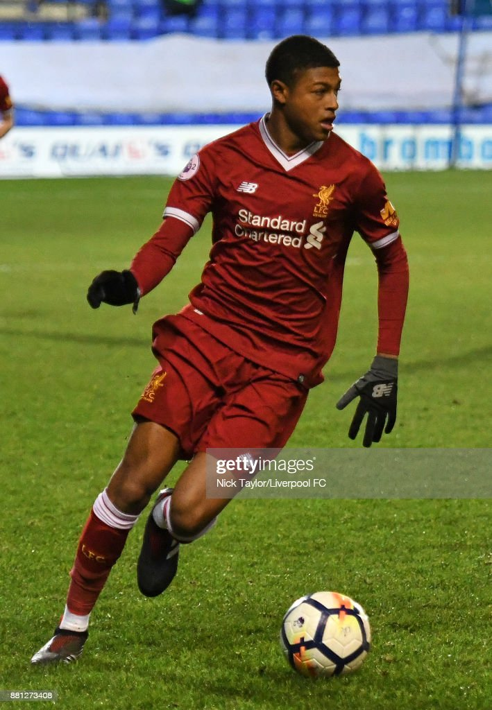Liverpool U23 v Sparta Prague U23: Premier League International Cup