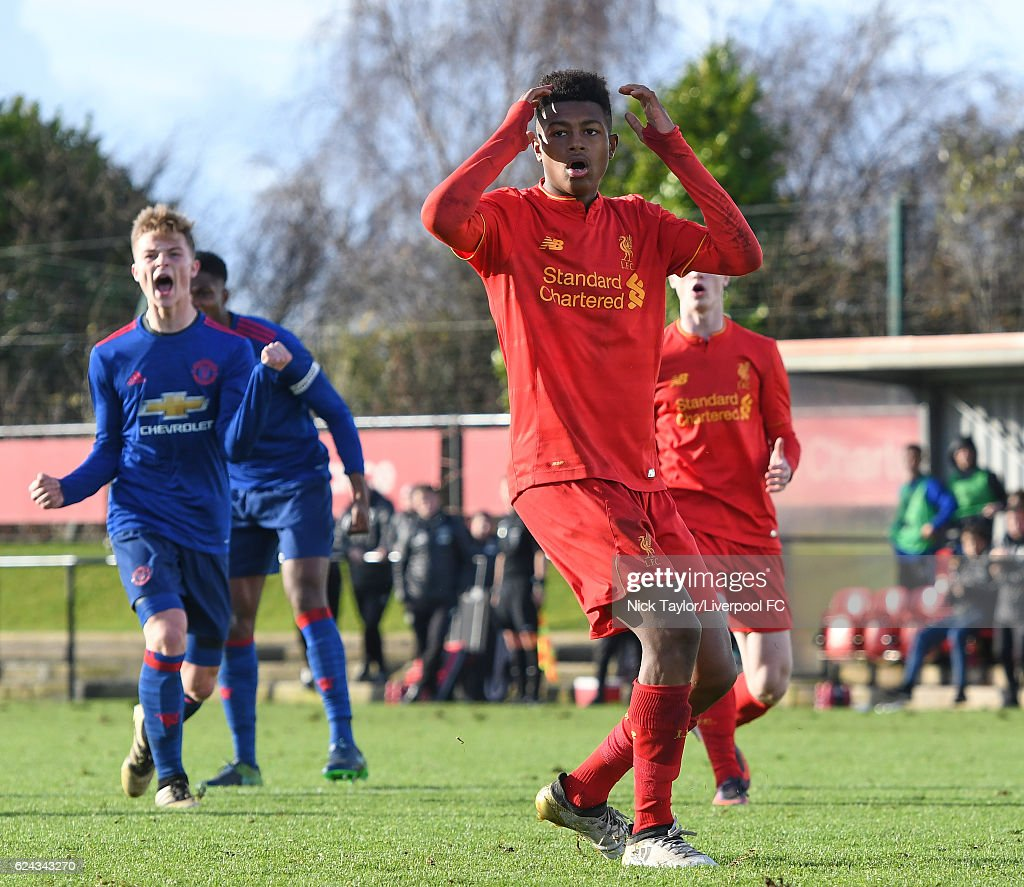 Liverpool v Manchester United: U18 Premier League
