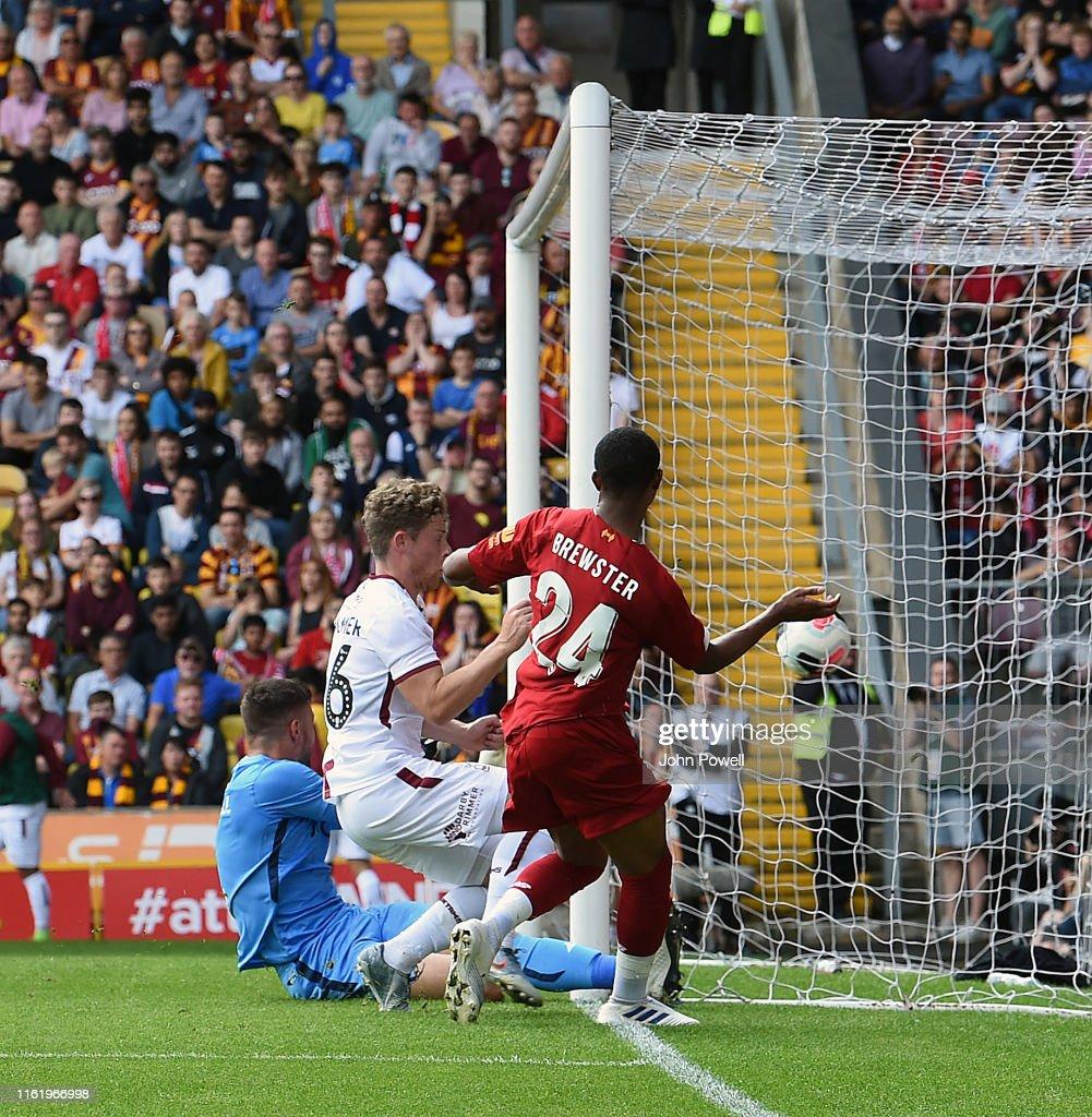Bradford City v Liverpool - Pre-Season Friendly : News Photo