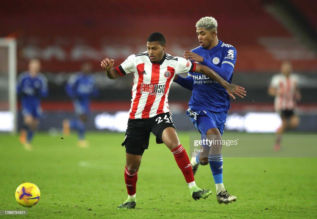 Sheffield United v Leicester City - Premier League : ニュース写真