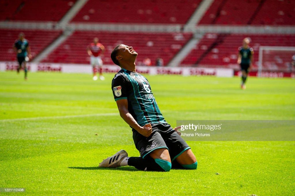 Middlesbrough v Swansea City - Sky Bet Championship : News Photo
