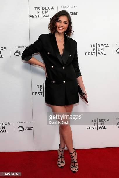 Rhian Ramos attends the Safe Spaces screening during 2019 Tribeca Film Festival at Village East Cinema on April 29 2019 in New York City