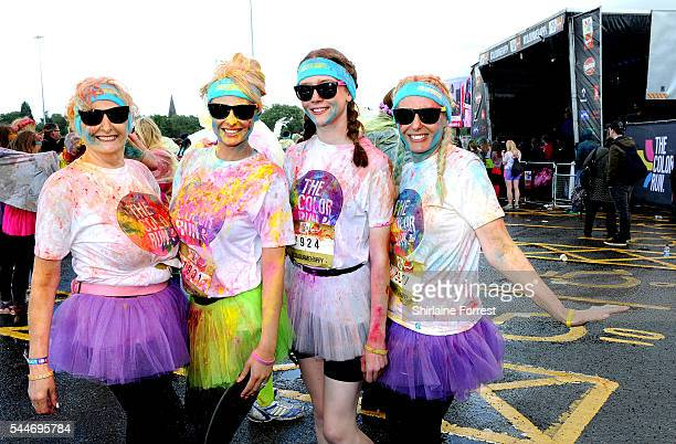 Rhian Sugden is amongst 9000 runners of all ages and abilities taking part in The Color Run presented by Skittles as The happiest 5k on the planet...