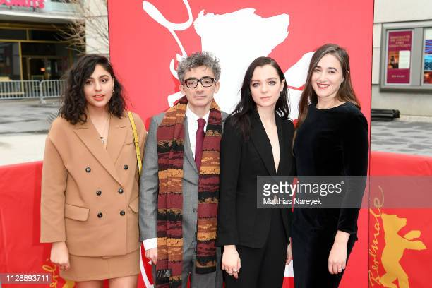 Rhianne Barreto David Farr Esme CreedMiles and Sarah Adina Smith attend the Hanna premiere during the 69th Berlinale International Film Festival...