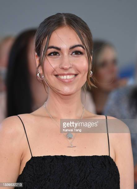 Rhiannon Clements attends the National Television Awards 2021 at The O2 Arena on September 09, 2021 in London, England.