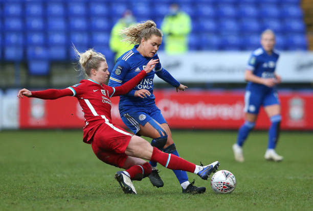 GBR: Liverpool v Leicester City - Barclays FA Women's Championship