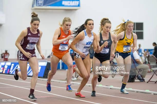 Rhianwedd Price-Weimer of Mississippi State University, Grace Barnett of Clemson University, Whittni Orton of Brigham Young University, Elise Cranny...