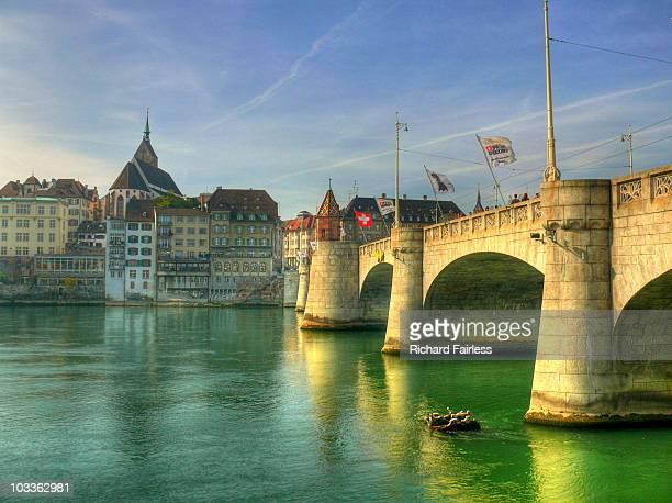 Rhine bridge in Basel