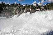Rhine Falls and Laufen Castle, Schaffhausen, Switzerland