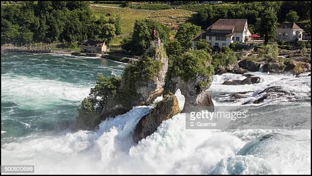 Rhine falls close to Schaffhausen - Switzerland