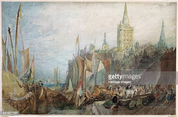 Rhine Gate Cologne' 1819 Artist JMW Turner
