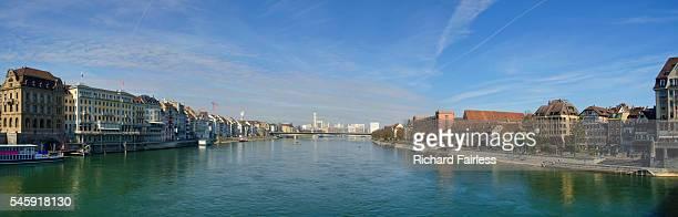 Rhine panorama in Basel