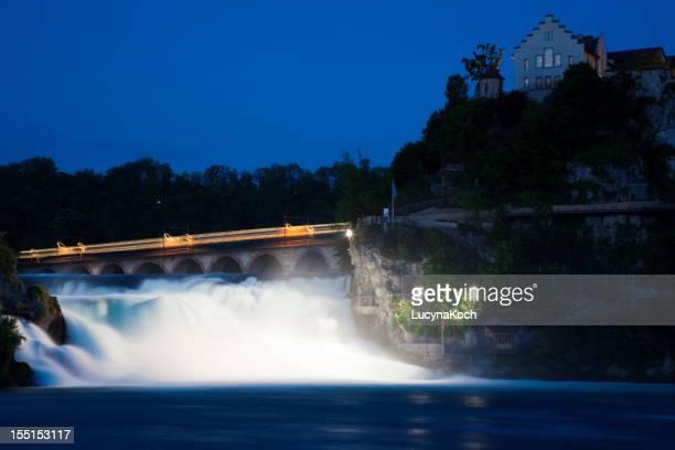 Rhein bei Nacht