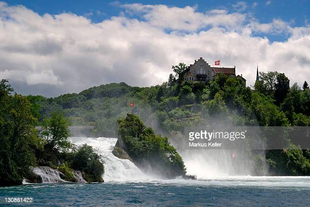 Rhine River Falls near Schaffhausen - Switzerland, Europe.