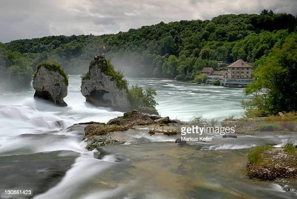 Rhine River Falls near Schaffhausen - Switzerland, Europe.