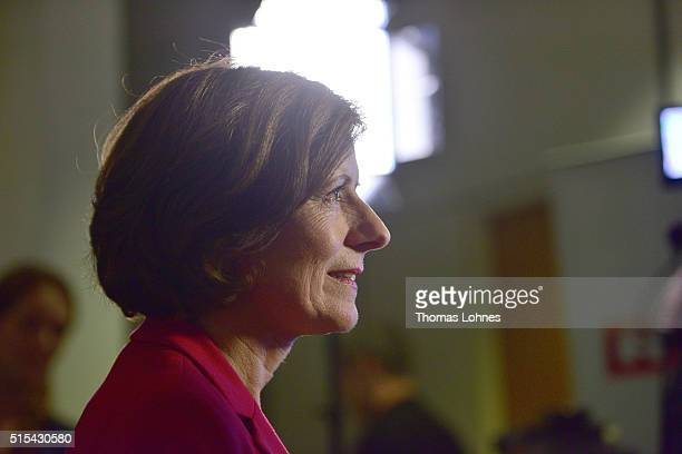 Rhineland-Palatinate Governor Malu Dreyer and lead candidate for the German Social Democrats in Rhineland-Palatinate state elections pictured at the...