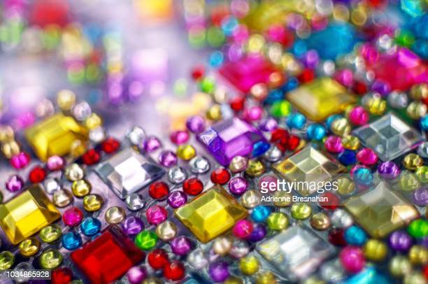 rhinestone connections - rhinestone stock pictures, royalty-free photos & images