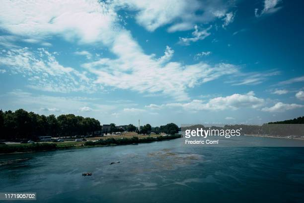 rhône river - rhone stock pictures, royalty-free photos & images