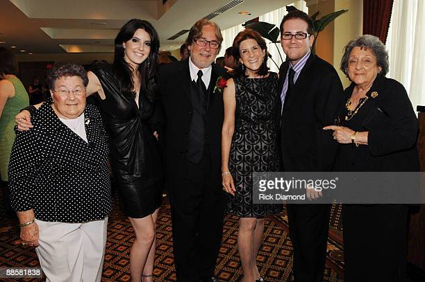 Rhoda Cohen Alana Grace Essig Honoree Rod Essig Shary Essig Greg Essigand Gail Essig attend The Father of the Year 2009 Awards Benefiting The...