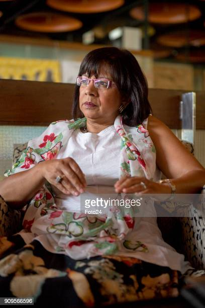 Rhoda Kadalie opens up about going on retirement during an interview on January 16 2018 at the Baxter Theatre in Cape Town South Africa Kadalie an...