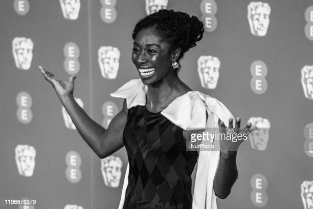 Rhoda OforiAttah attends the EE British Academy Film Awards 2020 After Party at The Grosvenor House Hotel on February 02 2020 in London England