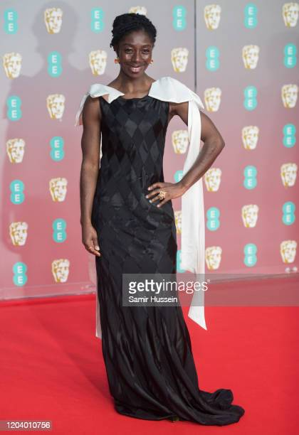 Rhoda OforiAttah attends the EE British Academy Film Awards 2020 at Royal Albert Hall on February 02 2020 in London England
