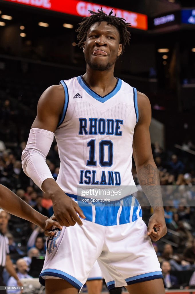 huge selection of edc65 e77f2 Rhode Island Rams forward Cyril Langevine during the ...