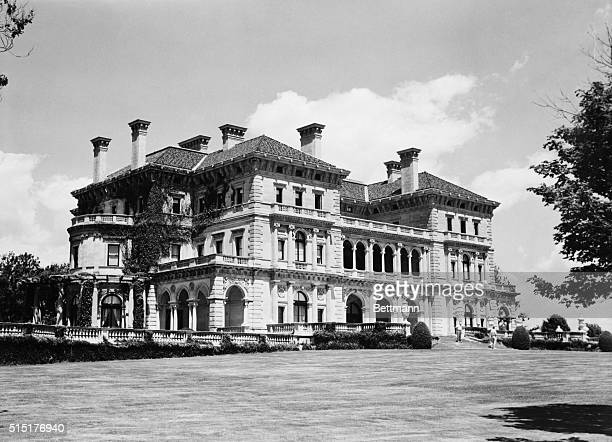 Rear view of the Breakers one of the most luxurious homes of the gilded age Undated photograph BPA2# 5213