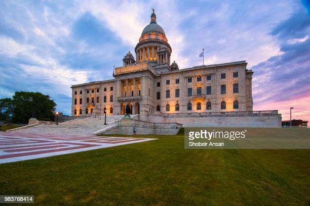 rhode island state house, providence, ri - local government building stock pictures, royalty-free photos & images