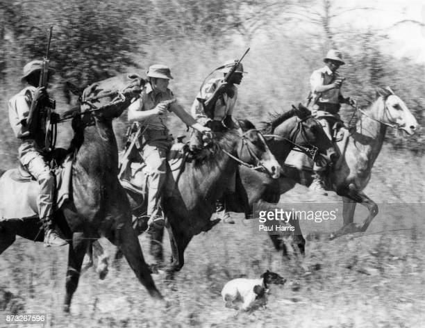 Rhodesian Police ride into tribal trust land accompanied by a dogMay 23 2000 Ian Smith Rhodesia's last white prime minister whose attempts to resist...