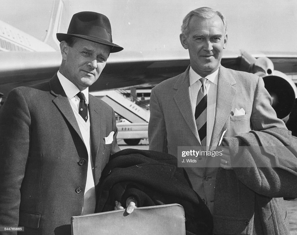 William Harper And John Wrathall : News Photo