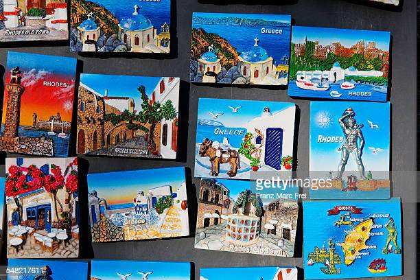rhodos souvenirs - souvenir stock pictures, royalty-free photos & images